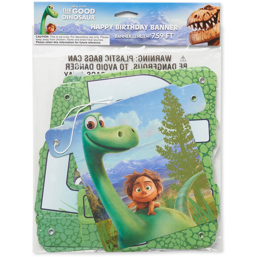 The Good Dinosaur Birthday Party Banner Party Supplies Walmartcom