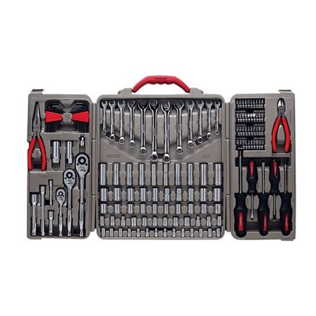 Professional Mechanics Tool Set, Nickel Chrome - 148 Piece
