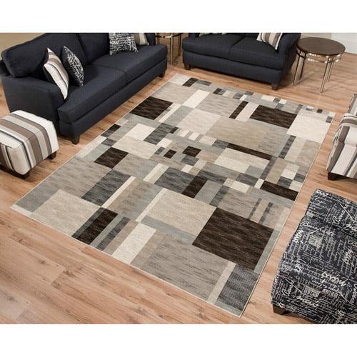 Sonoma Modern Woven Viscose Rug, Gray Multi