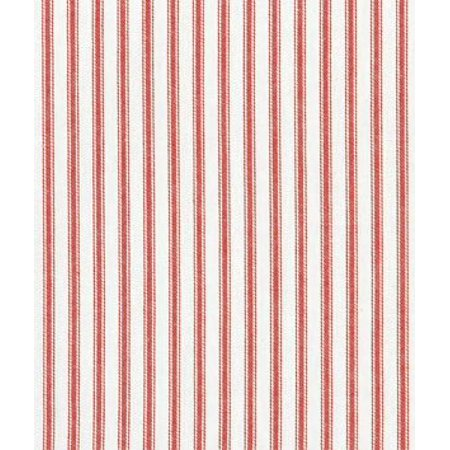 Red Woven Ticking Fabric By The Yard By Covington Walmartcom