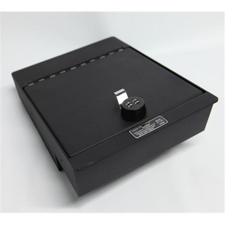 Locker Down LD2041 Console Safe For 2014 1500 Series Sierra And Silverado With Split Bench Seat