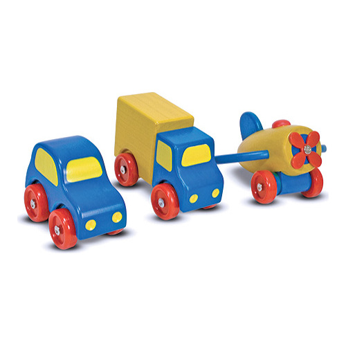 Children's Melissa & Doug First Vehicles Set