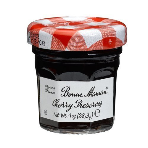 Bonne Maman Red Cherry Preserve Mini Jars - 1 Oz X 30 Pcs Kosher