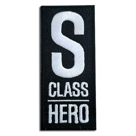 One Punch Man S-Class Hero Patch](Hero Punch)
