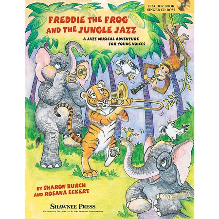 Shawnee Press Freddie the Frog and the Jungle Jazz CLASSRM KIT Composed by Sharon Burch