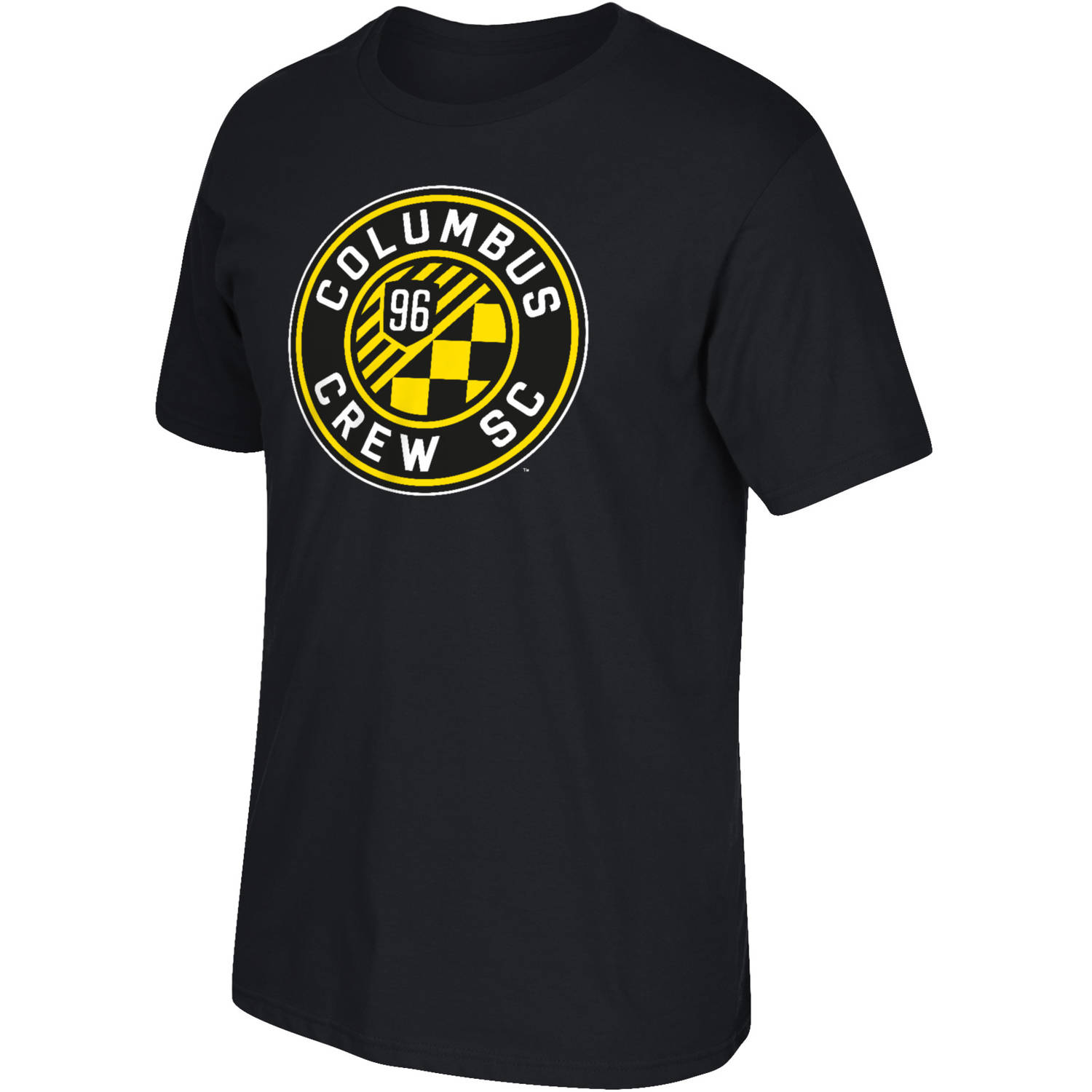MLS Columbus Crew Mens Oversized Logo Short Sleeve Tee