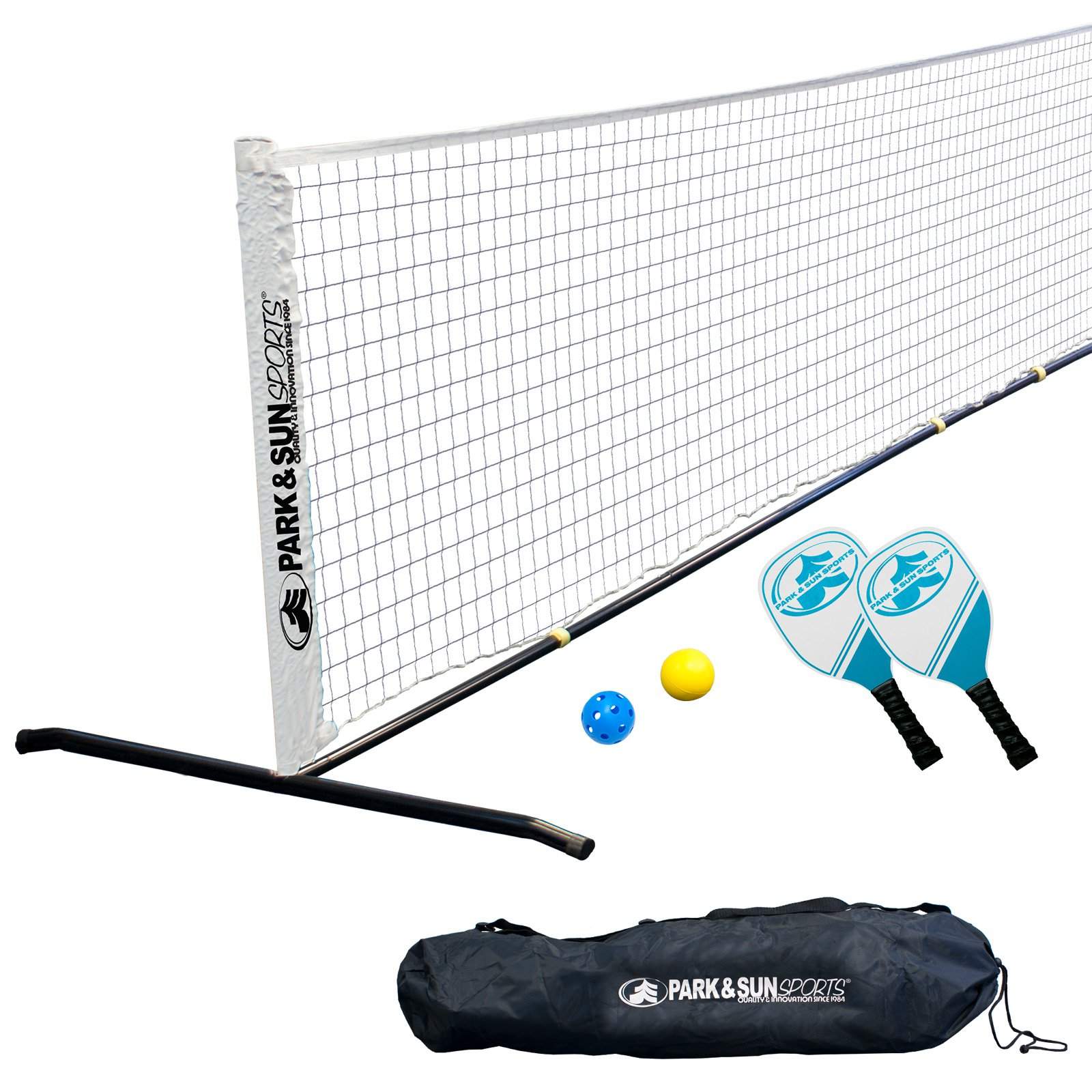 Park & Sun Sports Portable Pickleball and Tennis Set by