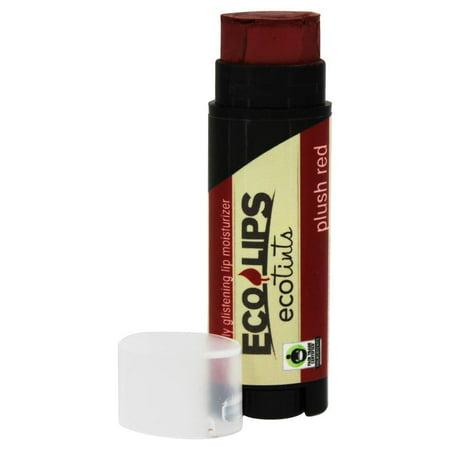 Eco Tints - Eco Lips - Eco Tints  Lip Balm Plush Red - 0.15 oz.