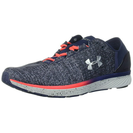 Under Armour Men's Charged Bandit 3, Glacier Gray/Midnight Navy/Metallic Silver, 10.5 D(M) US - Please Shoes