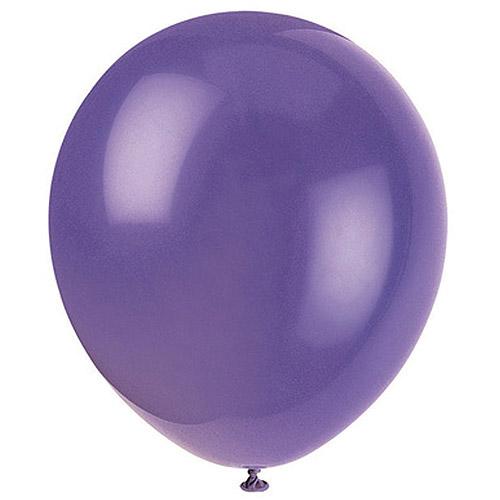 Latex Balloons, 12 in, Amethyst Purple, 72ct