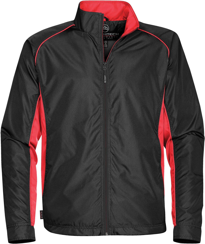 Stormtech Performance Training Jacket Boys Size Large Blue Track Jacket NEW