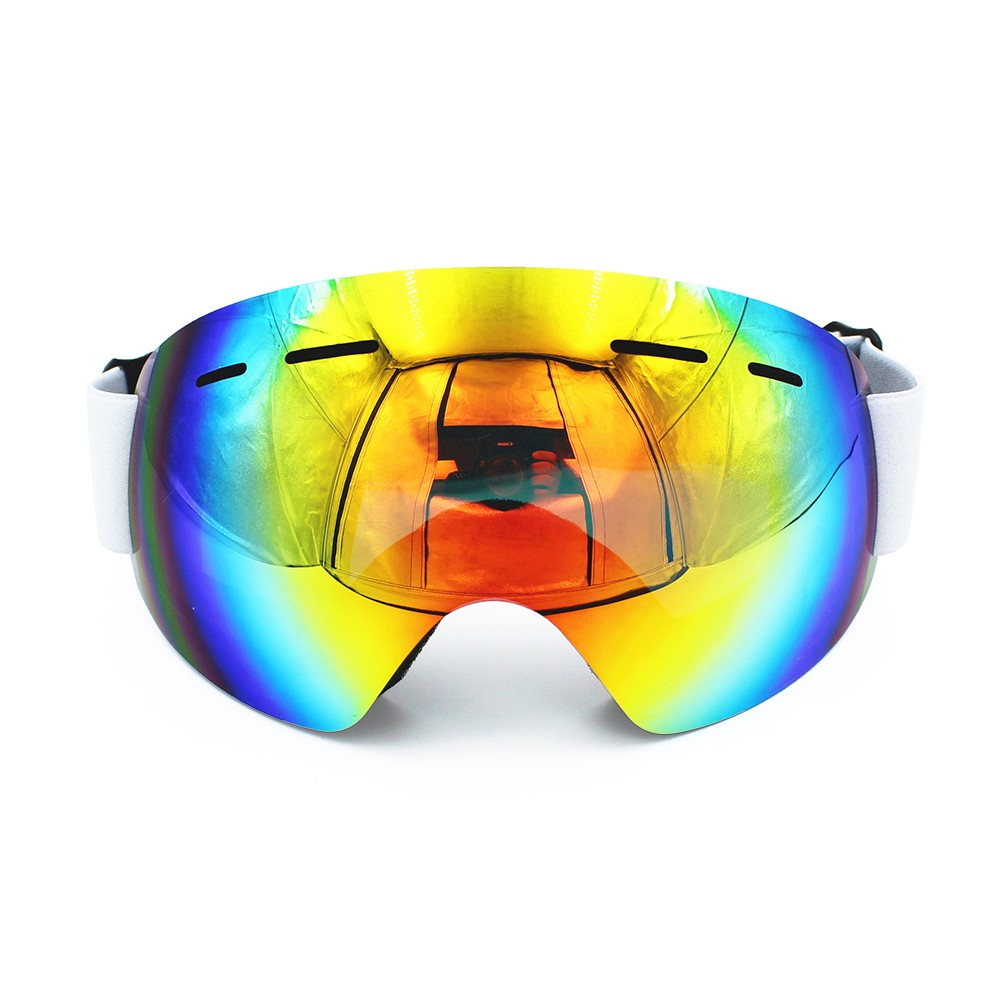 Ediors Professional Frameless Winter Snowboard Ski Goggles with Anti-Fog UV Lens by Ediors
