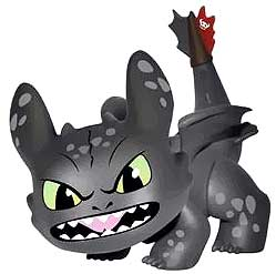 Funko How to Train Your Dragon Toothless Vinyl Mini Figure [Angry]
