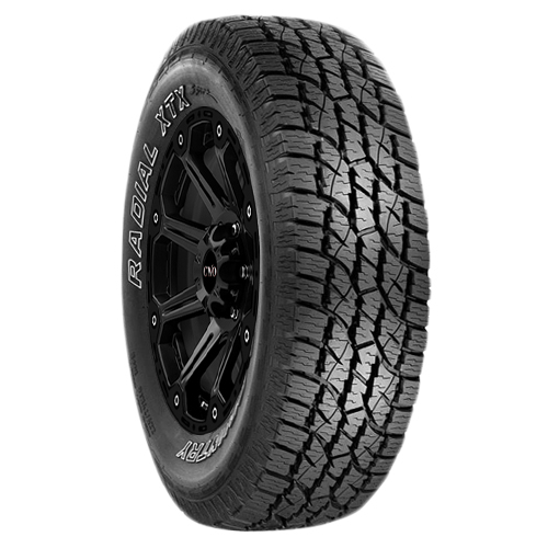 LT285/70R17 Multi-Mile Wild Country XTX 121T E/10 Ply BSW Tire