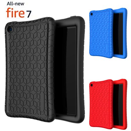 Silicone Case Cover Kids Friendly For All-New Fire 7 Tablet