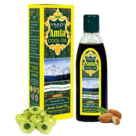 Vaadi Herbals Amla Cool Oil with Brahmi and Amla Extract, 100ml
