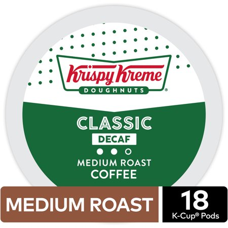 Krispy Kreme Decaf Coffee, Keurig K-Cup Pod, Medium Roast, 18ct - Krispy Kreme Halloween Rap
