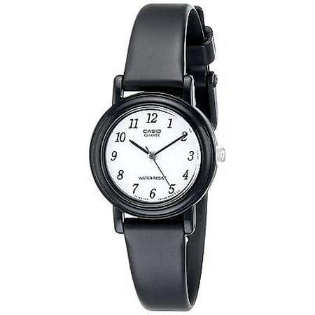 Casio LQ139B-1B Women's Resin Band Classic White Easy Reader Dial Analog Watch (Green Casio Watch Women)