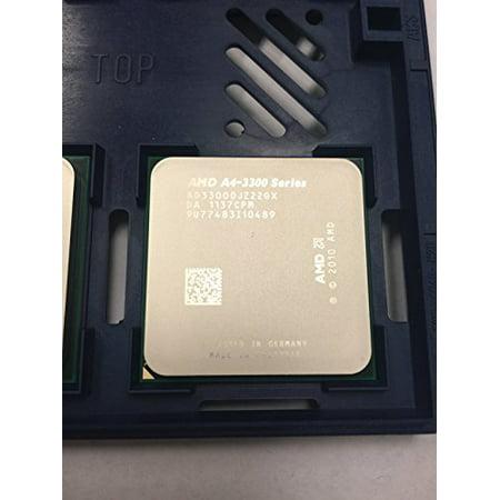 AMD A4-3300 APU with AMD Radeon 6410 HD Graphics 2.5GHz Socket FM1 65W Dual-Core Processor - OEM