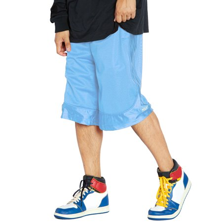 Shaka Wear Men's Mesh Basketball Shorts Athletic Pants S ~ 5XL Custom Fit Mesh Shorts