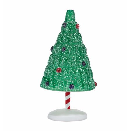 Department 56 Snow Village Gumdrop Park Christmas Tree Accessory Figurine
