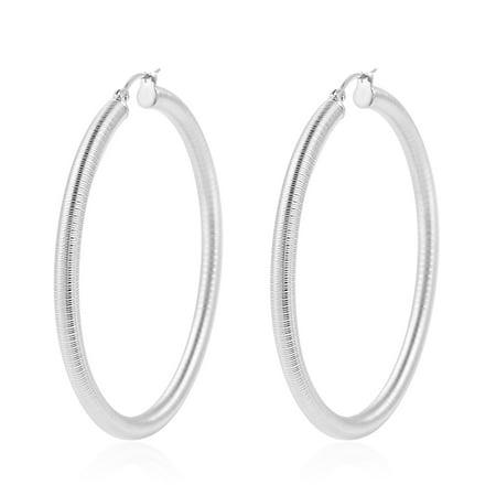 Hoops, Hoop Earrings for Women](80's Jewelry)