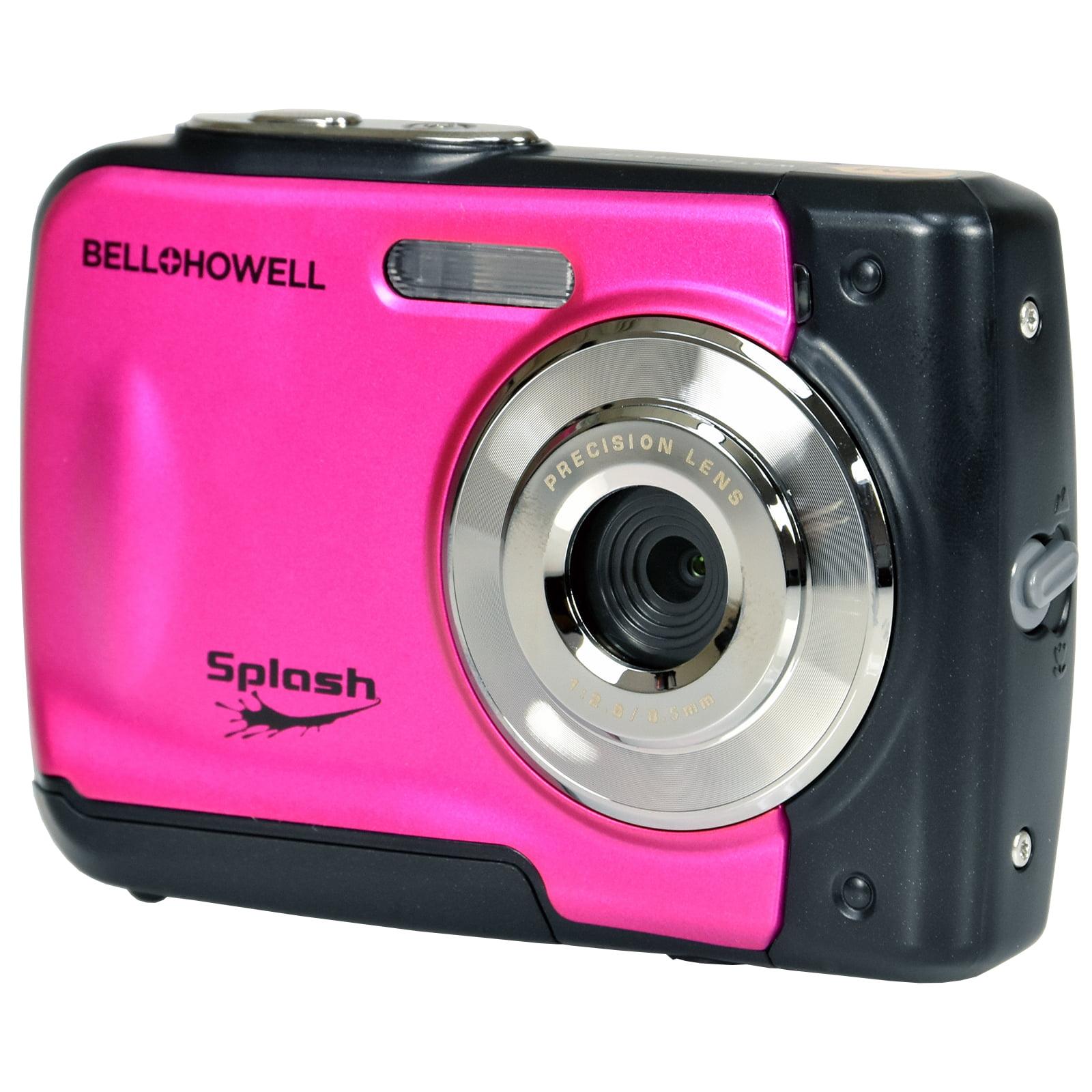 Bell + Howell Splash WP10 Shock + Waterproof Digital Camera (Pink)
