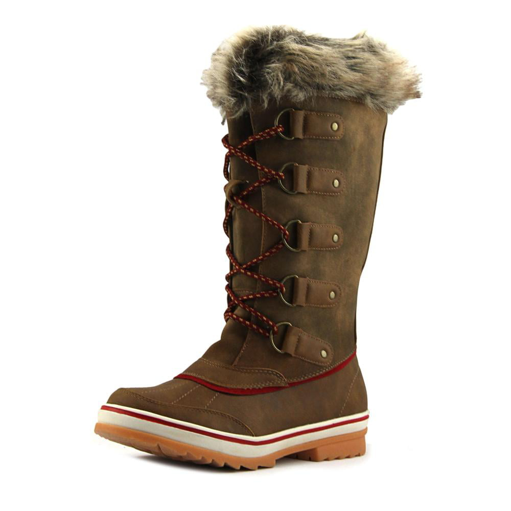 New@titude Frosty Round Toe Synthetic Winter Boot by Winter Boots
