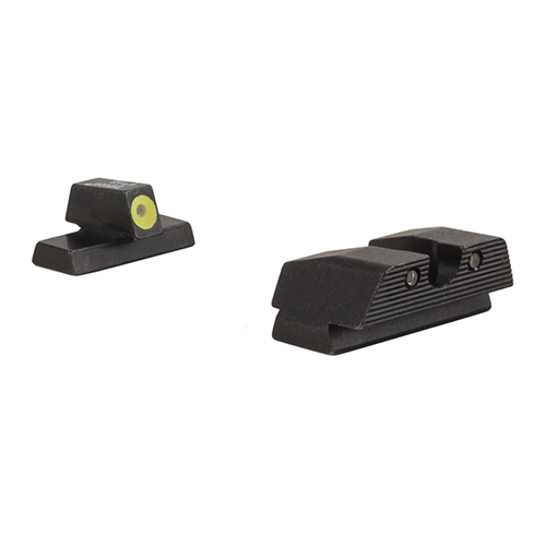 Click here to buy Trijicon Beretta HD Night Sight Set Beretta APX Models (Yellow Front Outline) by Trijicon.