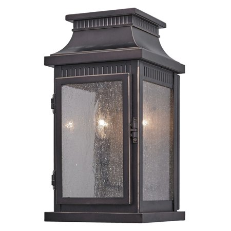 ArtCraft Mansard AC817 Outdoor Wall Lantern Bearing a weathered bronze finish and paneled with seeded glass, the ArtCraft Mansard AC817 Outdoor Wall Lantern resembles a timeworn antique. You can easily access the lamps through the hinged door in the front of the lantern. Artcraft Since 1955, Artcraft Lighting has operated on the belief that beautiful lighting should be as much about the experience as the light fixtures themselves. And to create that meaningful experience, Artcraft Lighting strives to provide lighting products that are designed to meet your decor, lifestyle, and budget needs - all while ensuring top quality and impeccable customer service. With Artcraft Lighting products, you can reap the benefits of more than 60 years of lighting experience.
