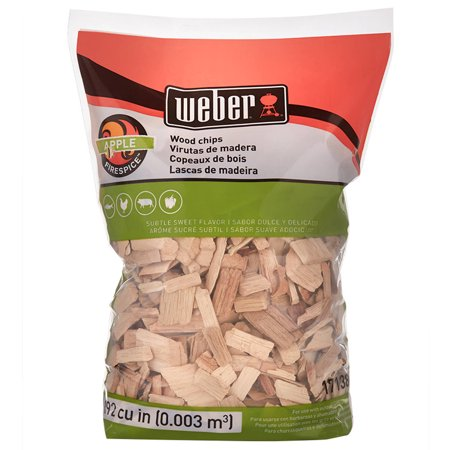 Weber Apple Wood Chips, 192 Cu. In. -