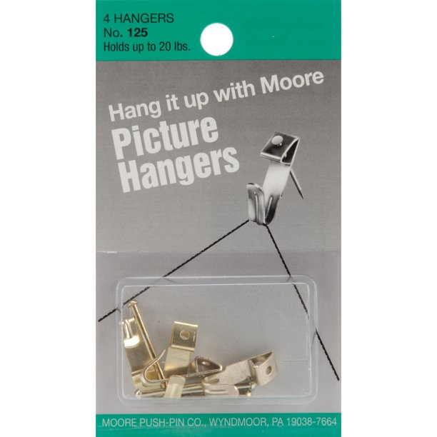 Picture Hangers 5/Pkg-Up To 20lb