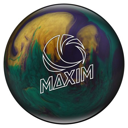 Ebonite Maxim Bowling Ball- Emerald Glitz- 14 lbs