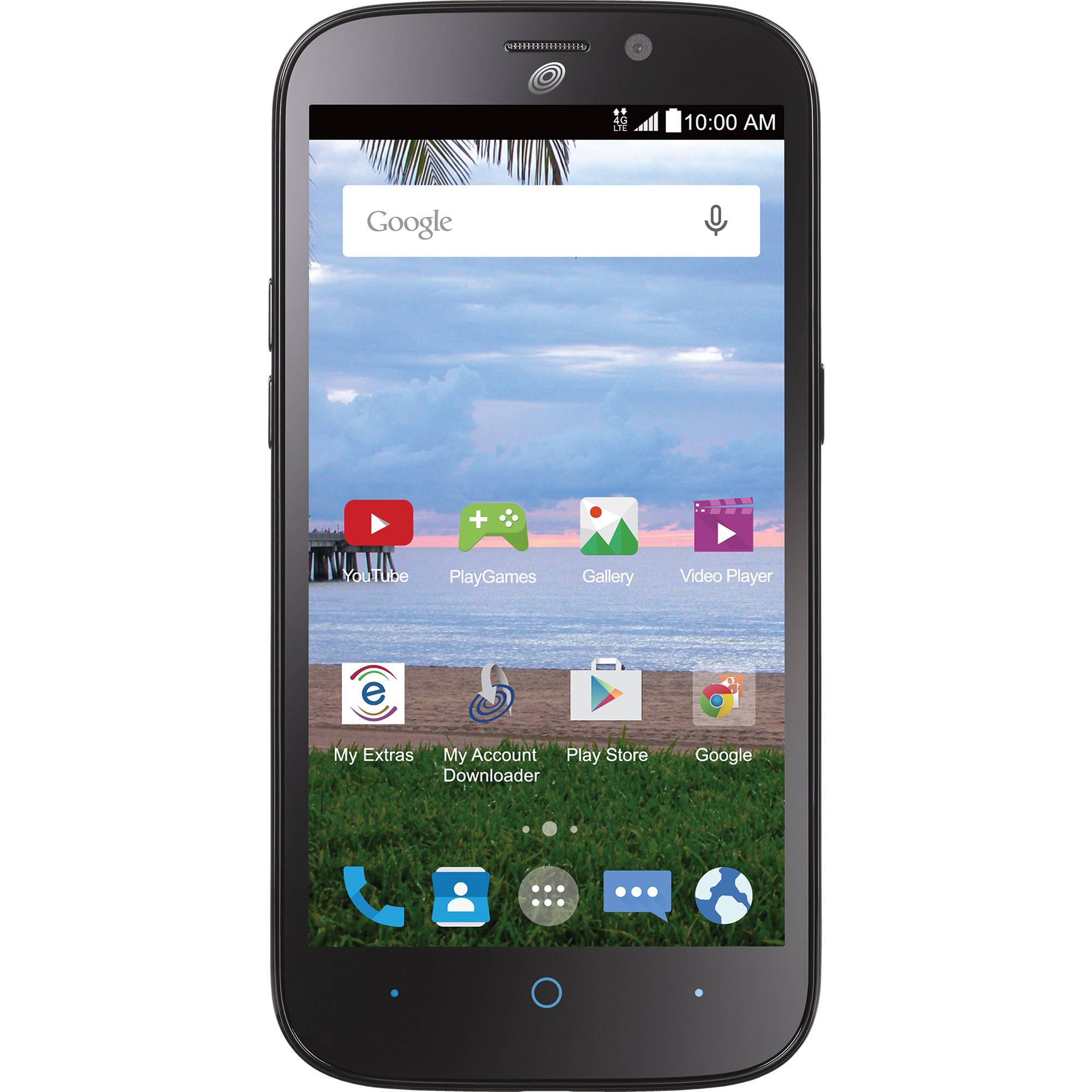 Total Wireless ZTE STRATOS 4G LTE Prepaid Smartphone