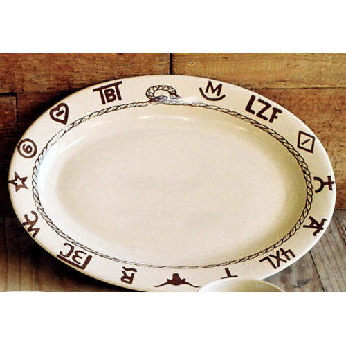 West Creation Western Oval Platter