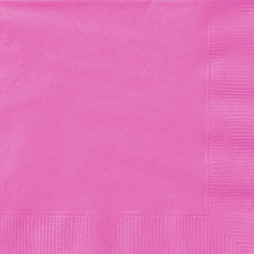 Pink Luncheon Napkins, 24 Count