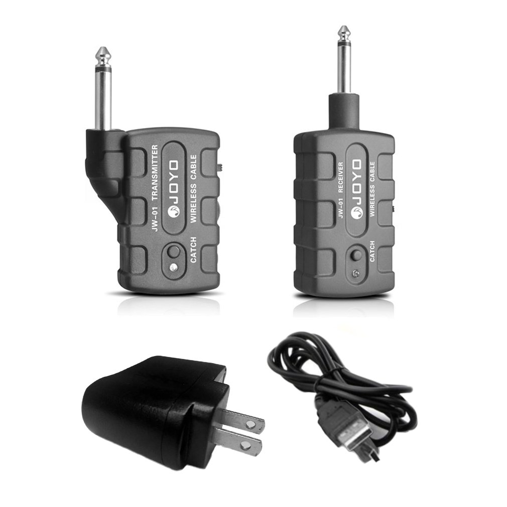 JW-01 Guitar Wireless Audio Transmitter And Audio Receiver Guitar Digital Bass Keyboards... by