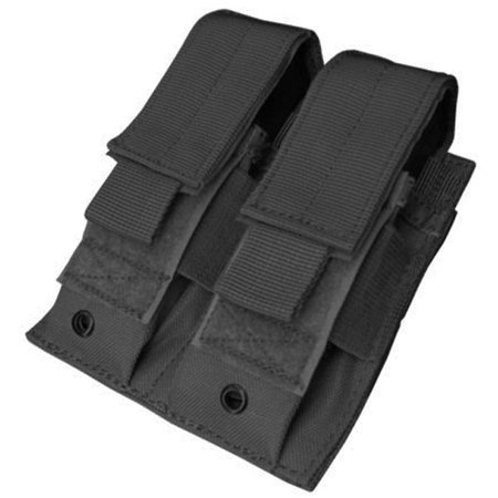 Condor MA23 Tactical Double Pistol Magazine MOLLE Pouch - Black