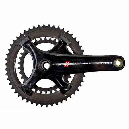Campagnolo 2016 Super Record Carbon Ultra-Torque 11 Speed Double Compact 34/50 Crankset 170mm Campagnolo Record Ultra Torque Carbon