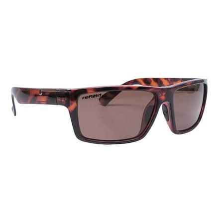 Brown Caramel (Unsinkable Polarized Men's Echo Floating Sunglasses Caramel Tort Core Brown)