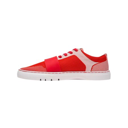 - Creative Recreation Cesario Lo Woven Sneakers in Red White