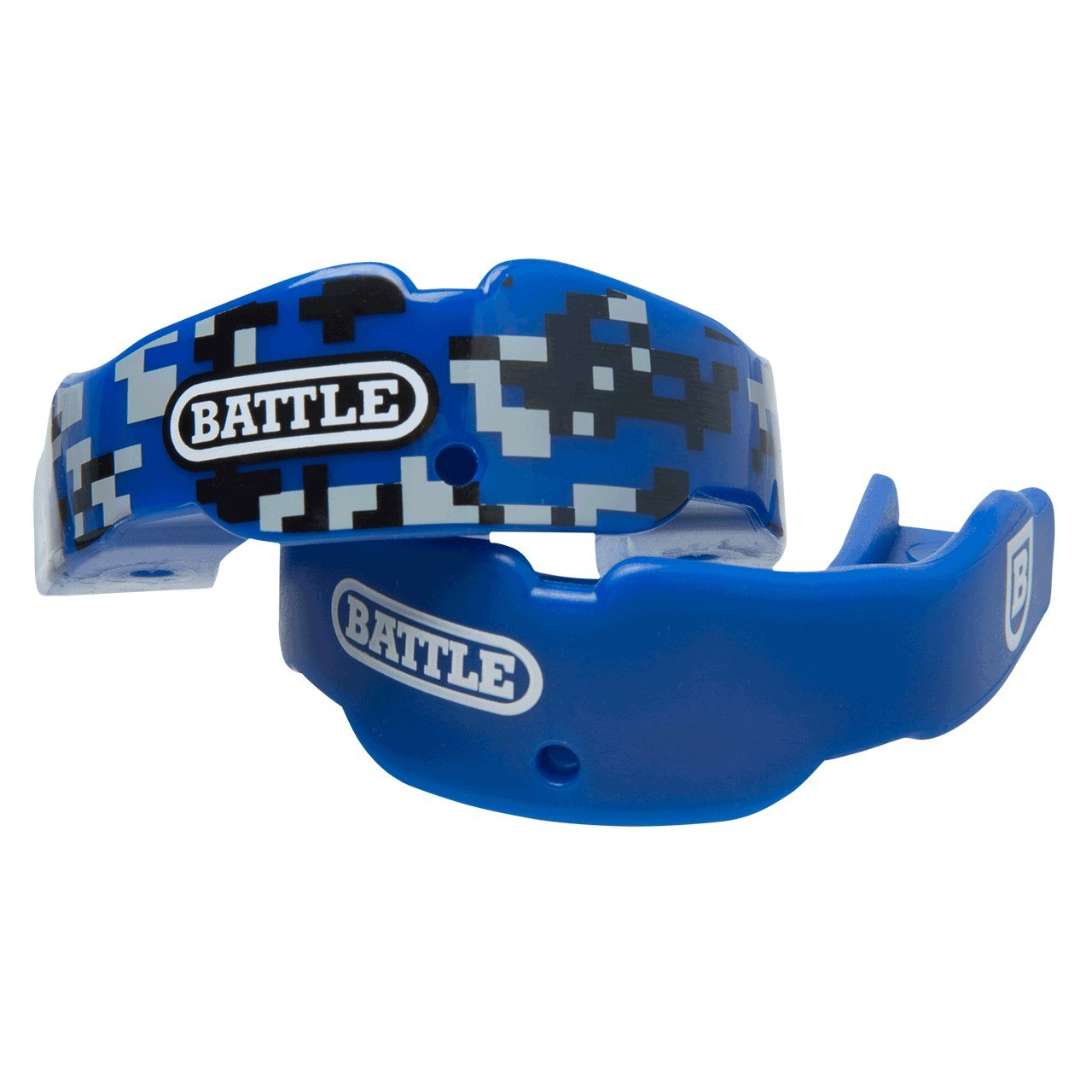 Battle 2-Color Mouthguard (2-Pack) (42.ROYAL, Youth)
