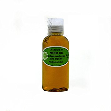 - Dr. Adorable - 100% Pure Neem Oil Organic Unrefined Cold Pressed Natural - 4 oz