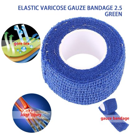New Arrival 2.5cm*4.5m Self-Adhering Bandage Wraps Elastic Adhesive First Aid Tape Stretch 5cm free shipping - image 2 de 7