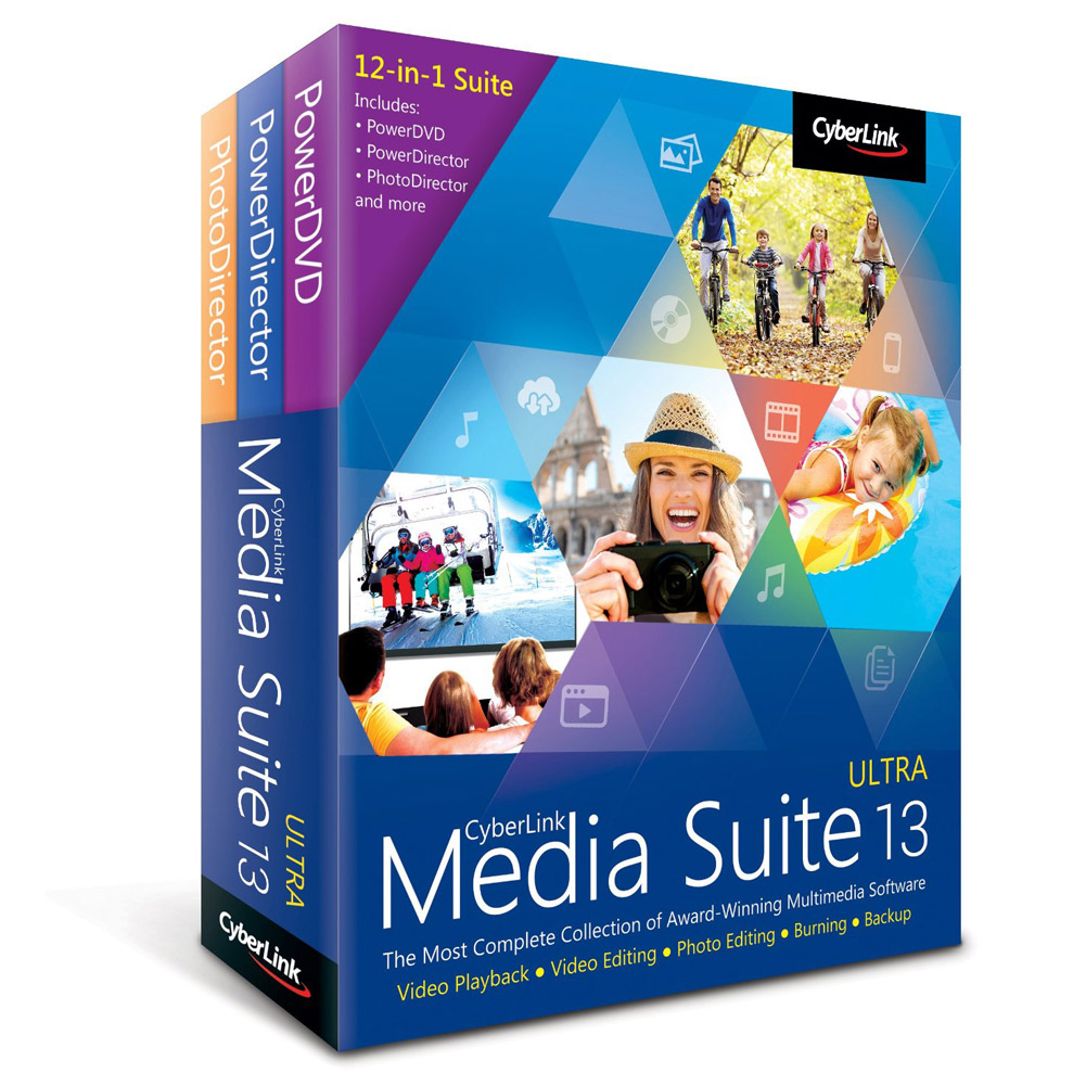 Cyberlink Media Suite Ultra 13 Software