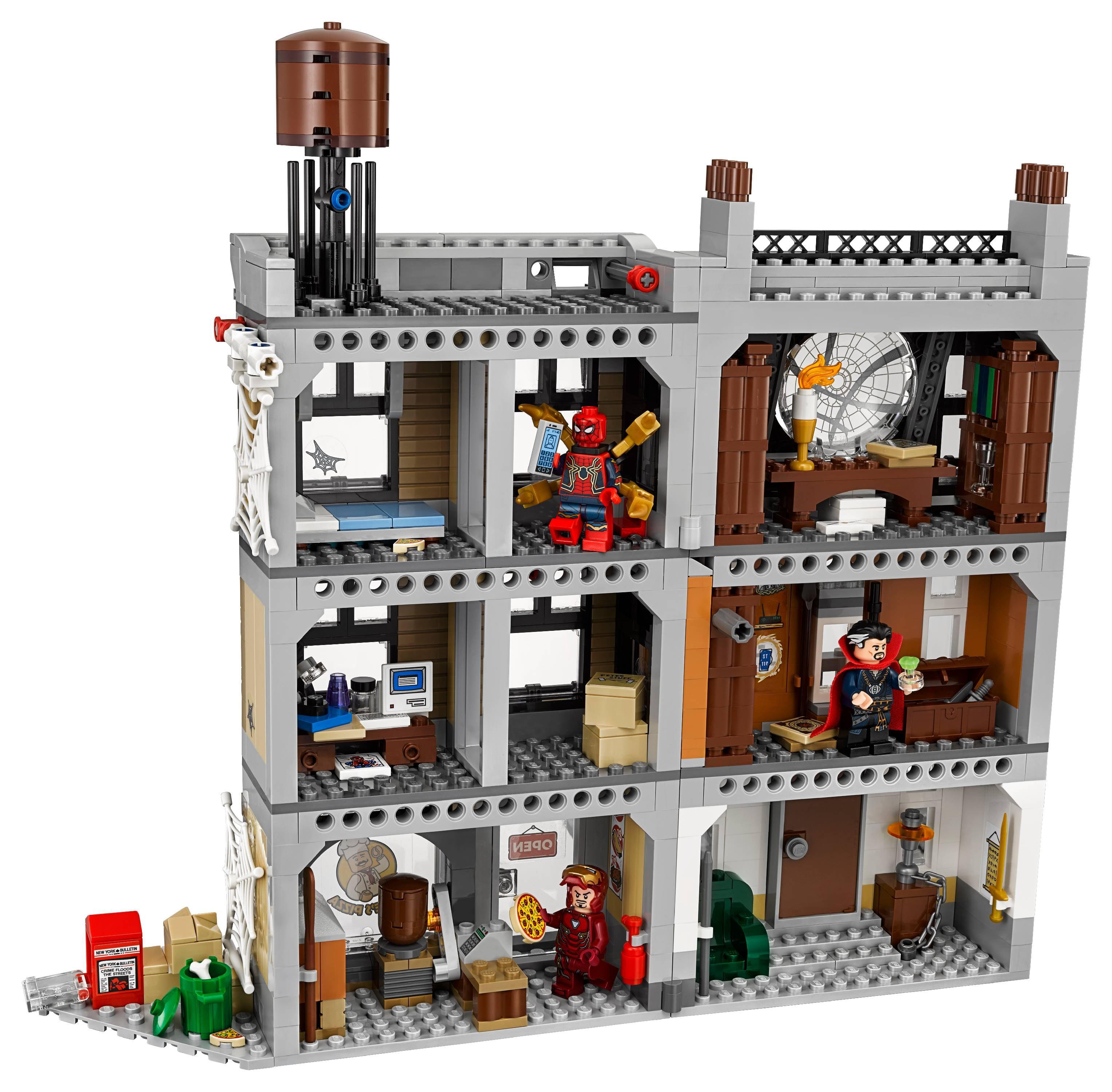 LEGO Marvel Avengers Sanctum Sanctorum Showdown 76108 - Walmart com