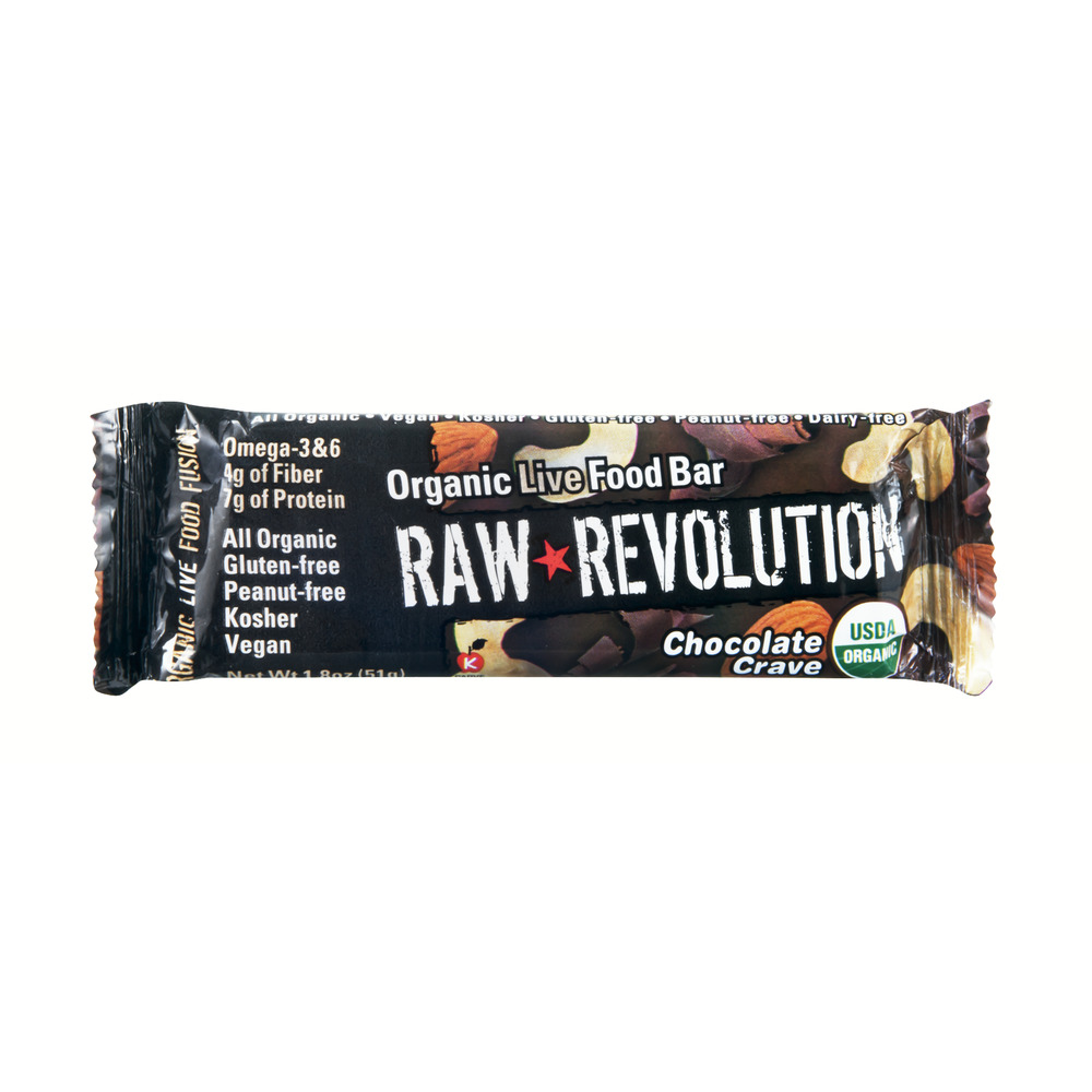 Raw Revolution Organic Live Food Bar Chocolate Crave, 1.8 OZ