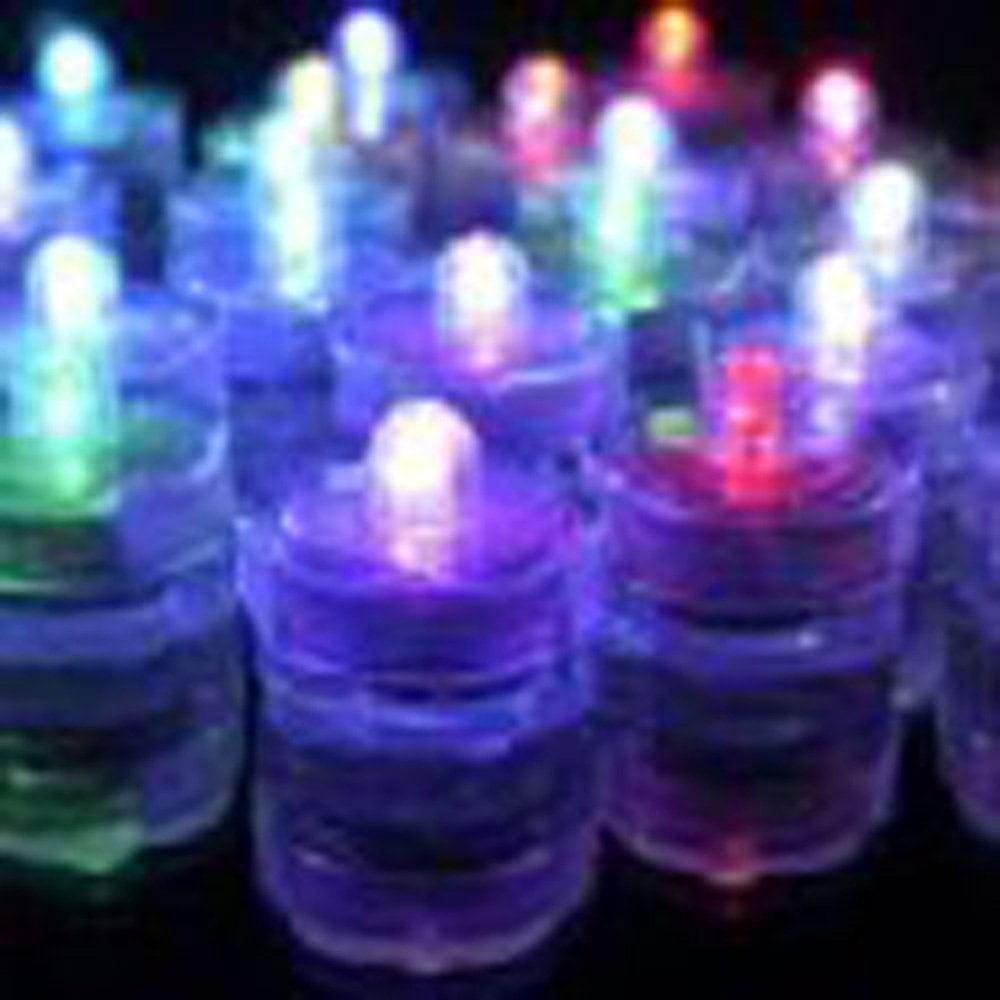 Waterproof Submersible Led Lights Tea Lights For Wedding ...