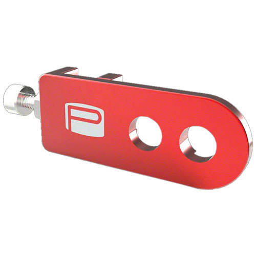 """Promax C-1 Chain Tensioners for 3/8""""/10mm Axles Red"""