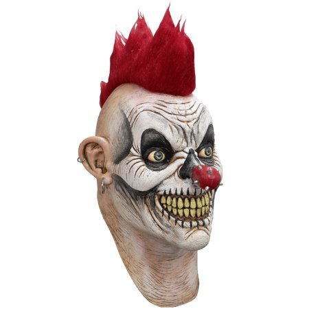 Punky Clown Adult Mask (Cheap Clown Masks)